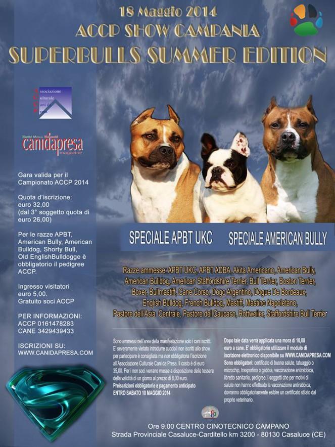 ACCP - Show Campania 2014 - SUPERBULLS SUMMER EDITION