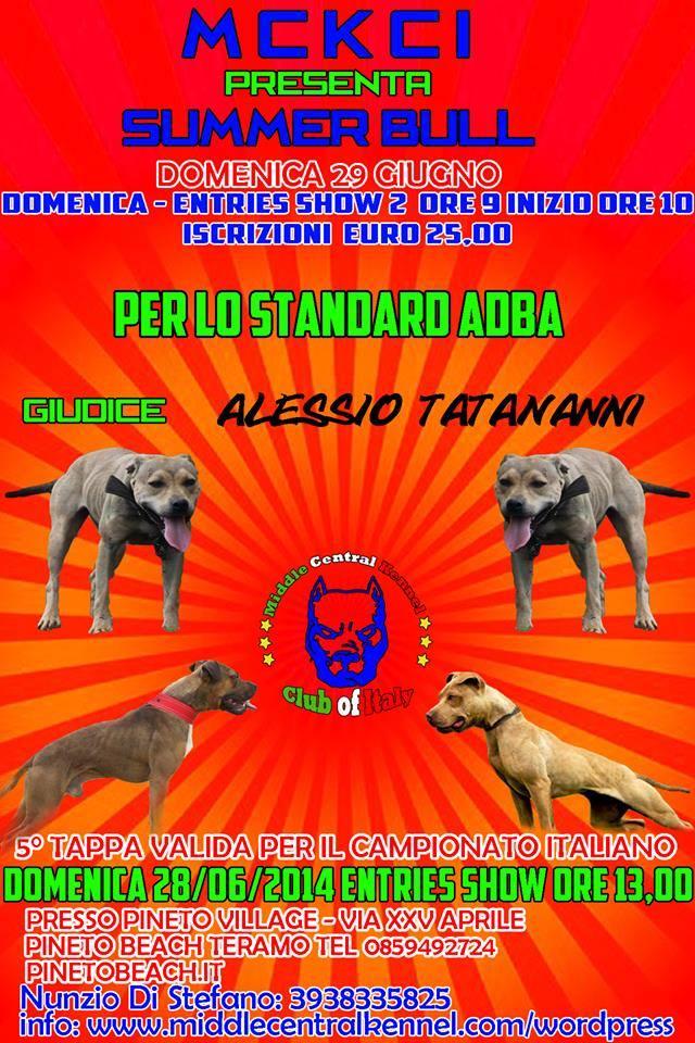 MCKCI - 5ª tappa del campionato 2014 - Pineto (TE) - ADBA