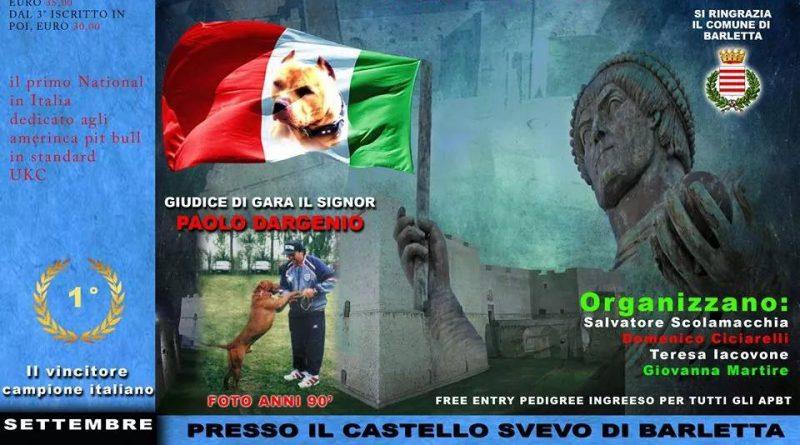 1° National American Pit Bull Terrier - Italia 2014