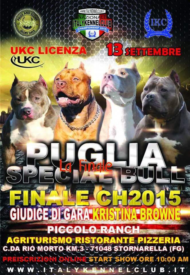 IKC - FINALE PUGLIA SPECIAL BULL